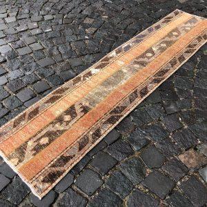 1.6 ft. x 6.8 ft. Vintage Patchwork Rug TR19704 Image 1