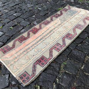 1.5 ft. x 3.7 ft. Vintage Patchwork Rug TR19744 Image 1
