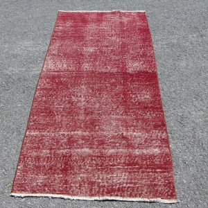 2.8 ft. x 6.7 ft. Vintage Overdyed Rug TR24113 Image 1