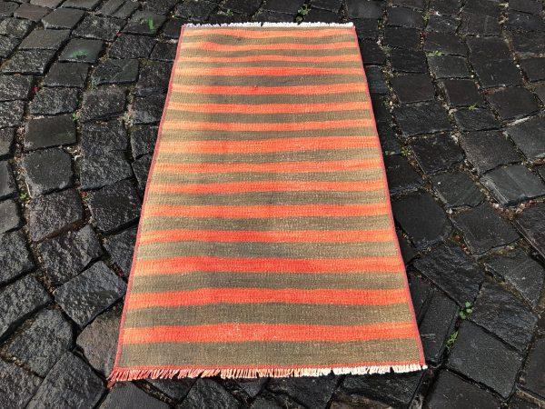 1.6 ft. x 3.2 ft. Vintage Kilim Rug TR52582 Image 5