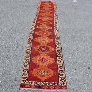 2 ft. x 11 ft. Vintage Turkish Rug TR06776 Image 1
