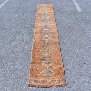 1.8 ft. x 11.2 ft. Vintage Turkish Rug TR07156 Image 1