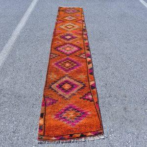2 ft. x 11.4 ft. Vintage Turkish Rug TR07176 Image 1