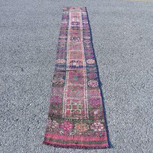 1.9 ft. x 12.7 ft. Vintage Turkish Rug TR07566 Image 1