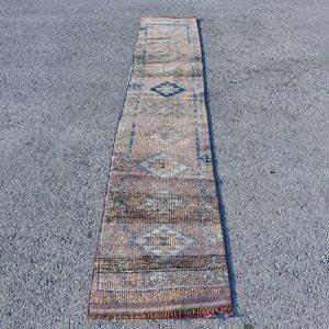 1.9 ft. x 10.6 ft. Vintage Turkish Rug TR07756 Image 1