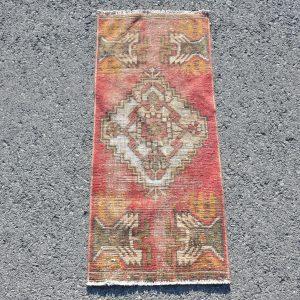 1.2 ft. x 2.9 ft. Vintage Turkish Rug TR15236 Image 1