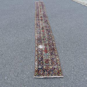 1.4 ft. x 15.2 ft. Vintage Patchwork Rug TR20374 Image 1