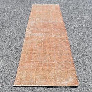 2.7 ft. x 9 ft. Vintage Overdyed Rug TR24843 Image 1