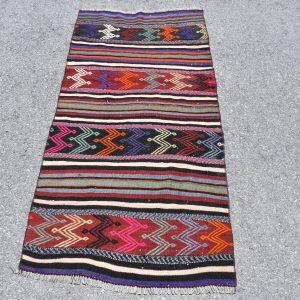 2.4 ft. x 5 ft. Vintage Kilim Rug TR54272 Image 1