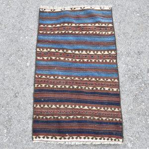 1.7 ft. x 3.1 ft. Vintage Kilim Rug TR54342 Image 1