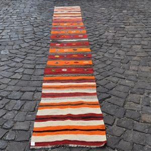 1.9 ft. x 15.4 ft. Vintage Kilim Rug TR55252 Image 1