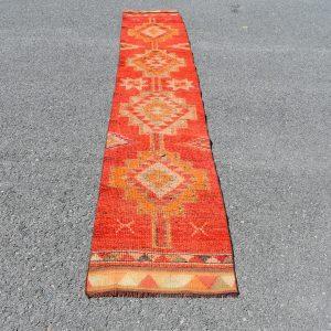 1.9 ft. x 10.9 ft. Vintage Turkish Rug TR16576 Image 1