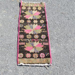 1.1 ft. x 3 ft. Vintage Turkish Rug TR17626 Image 1