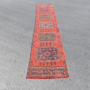 2 ft. x 10.9 ft. Vintage Turkish Rug TR18126 Image 1