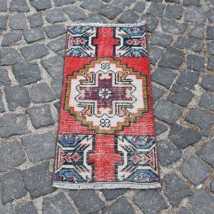 1.2 ft. x 2.9 ft. Vintage Turkish Rug TR19126 Image 1