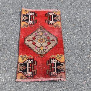 1.2 ft. x 2.5 ft. Vintage Turkish Rug TR20036 Image 1
