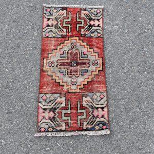 1.2 ft. x 2.9 ft. Vintage Turkish Rug TR20076 Image 1