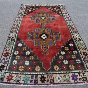 5 ft. x 10.5 ft. Vintage Turkish Rug TR23146 Image 1