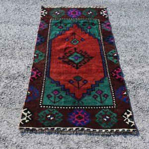 2.4 ft. x 5.2 ft. Vintage Turkish Rug TR23446 Image 1